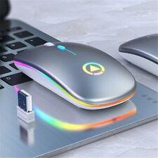 2.4GHz Wireless Optical Mouse &USB Receiver Adjustable DPI for PC Desktop Laptop