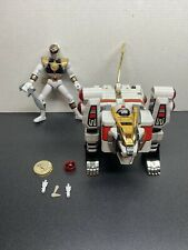 RARE Mighty Morphin Power Rangers White Ranger Tigerzord 1994 Bandai MMPR
