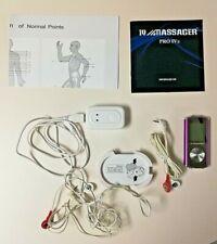 IQ Technologies Pro IV Combo Massager Purple Unit Parts w/ Instructions & Cords