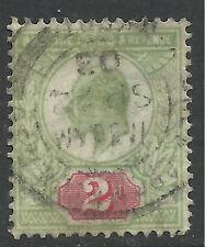 GB 1902 - 13 KEV11 2d Green & Red ( E966 )