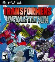 Transformers Devastation PS3 New PlayStation 3 Brand New Sealed Video Game