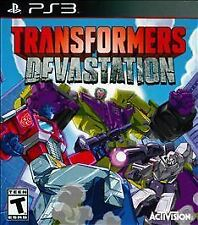 PLAYSTATION 3 TRANSFORMERS DEVASTATION BRAND NEW VIDEO GAME