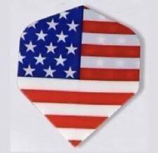 3 USA Dart Flights USA FLAG WHITE RED BLUE