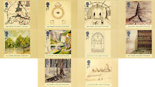 GB POSTCARDS PHQ CARDS MINT NO. 261 2004 JRR TOLKIEN THE LORD OF THE RINGS