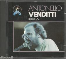 ANTONELLO VENDITTI - Gli anni 70 -  CD 1992 MINT CONDITION