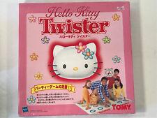 "Rare Vintage Sanrio Hasbro Hello Kitty ""Japan Only"" Twister Game, 1999"
