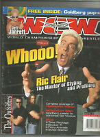 WCW Magazine December 1999 - Goldberg, Ric Flair, Jeff Jarrett, Sid Vicious, etc