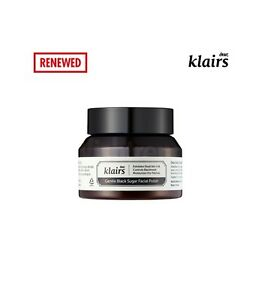 KLAIRS Gentle Black Sugar Facial Polish 110g / facial scrub gentle exfoliation
