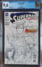 Superman (2011 3rd Series) #23 Rocafort Variant CGC 9.6 1:25
