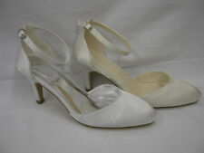 Mid Heel (1.5-3 in.) Strappy/Ankle Straps Bridal Shoes