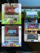 M2 Machines 1:64 VW Model Kits & VW Beetles lot 2014-19