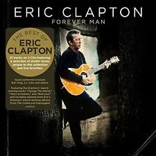 ERIC CLAPTON FOREVER MAN BRAND NEW SEALED 2 CD SET 2015 BEST OF GREATEST HITS
