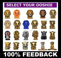 WOOLWORTHS Disney The Lion King Ooshies -Pick and Choose your Ooshie or Box Case
