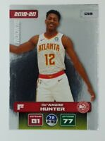 2019 Panini Adrenalyn XL De'Andre Hunter Rookie RC #C99, Atlanta Hawks