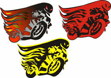 Flames Tattoo Exterior Styling Badges, Decals & Emblems