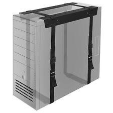 More details for under desk pc cpu holder straps computer tower mount bracket office home