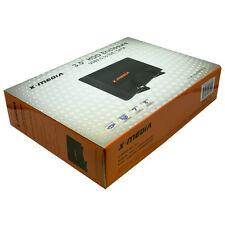 """X-MEDIA XM-EN3400-BK 3.5"""" USB2.0 IDE/SATA Enclosure, Supports 4TB SATA Hard Disk"""