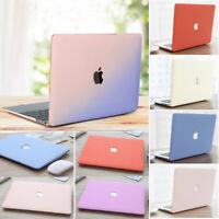 """Gradient Anti-Scratch Matte Hard Case for MacBook AIR PRO 11"""" 12"""" 13"""" 15""""+Retina"""