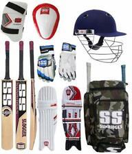 Ss Original Brand Full Cricket Complete Kit Ideal for Men Size Cricket Kit Pack
