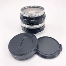 Nippon Nikkor-H Kogaku Camera Lens F/3.5 L1A 52mm f = 2.8 cm