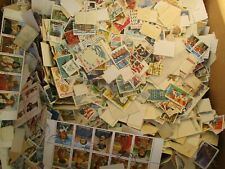 Used ON/OFF Paper 1000 US Stamps!!!!! FREE SHIPPING.