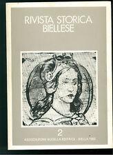 RIVISTA STORICA BIELLESE BUGELLA 1983 ANNO 1 FASCICOLO 2 BIELLA PIEMONTE