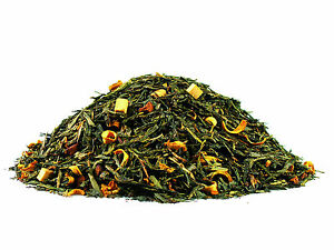 Cream-Caramel Luxury Flavoured Green Loose Leaf Tea (25g - 500g)
