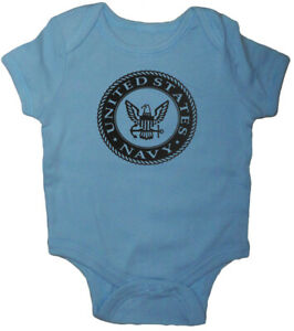 US Navy Baby Tee Shirt Infant Clothes Gifts Bodysuit One Piece Clothing