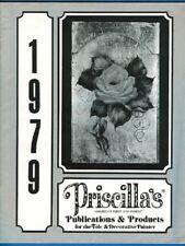 Priscilla's ( Priscilla Hauser) Publications & Product Catalog, Tole Paint 1979