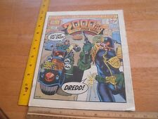 2000 Ad 1986 Judge Dredd #463 comic British magazine Judge Sladek