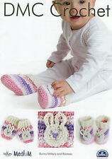 DMC Pattern Baby Bunny Mittens & Bootes
