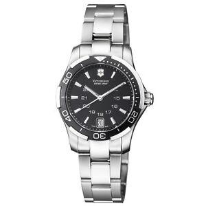 Victorinox Swiss Army Women's 241305 Alliance Sport Lady 33mm Black Dial Watch