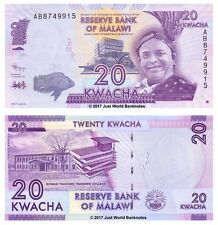 Malawi 20 Kwacha 2012  P-57  Prefix AB Banknotes UNC