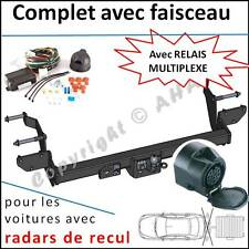 ATTELAGE Peugeot Boxer Fourgon L1 L2 L3 2006- faisceau 13 broches radar de recul