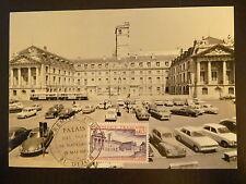 FRANCE PREMIER JOUR FDC YVERT 1757 PALAIS DES DUCS DE BOURGOGN  0,65F DIJON 1973