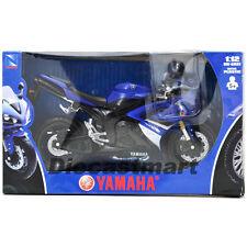 Newray 1:12 2008 Yamaha R1 Modelo Fundido Moto Azul