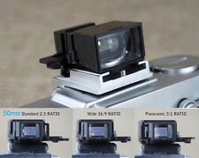 Camera Viewfinder Finder 50mm 2:3 standard 16:9 / 3:1 panoramic RATIO frames
