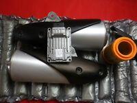 ORIGINE COMPLET ECHAPPEMENTS et UNITÉ ORIGINALE Ducati Monster 696 2011 a 2014