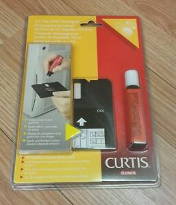 """Curtis Esselte (CK5 67549) 3 1/2"""" Disk Drive Cleaning Kit **NEW** -READ-"""