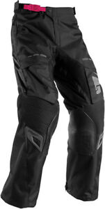 Thor Womens Black/Pink Terrain Contour Dirt Bike Pants MX ATV MTB BMX 2017