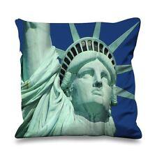 Statua della Libertà close up 45cm x 45cm Divano Cuscino-USA America NEW YORK