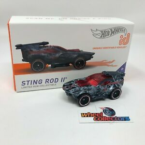 Sting Rod II * 2021 Hot Wheels id Car Case C * NEW!!