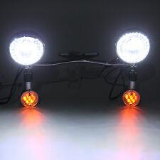 Passing Light Bar Turn Signals For Yamaha Road Star XV 1600 1700 Silverado