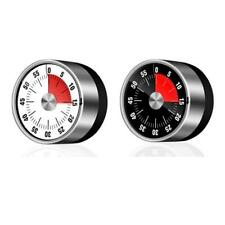 Stainless Steel Visual Timer Mechanical Kitchen 60-Minutes Alarm Cooking Timer