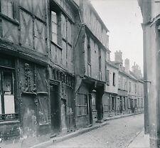 SENS c. 1900-20 - Vieille Rue Maisons à Colombages  L'Yonne - DIV 7296