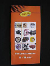 Brochure Slot.it Slot Cars Accessoires in 1/32 scale 2012 (Engels)