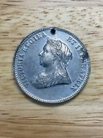 1837-1897 Queen Victoria 60th Year of Reign Medallion, Free Shipping