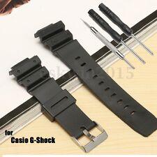 Correa Correas Reloj Watch Strap Band + Hebilla Negro Repuesto Para 25MM G-Shock