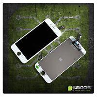 Display LCD für iPhone 6 mit RETINA Glas Scheibe Komplett Front WEISS WHITE NEU
