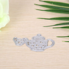 Teapot Metal Diy Cutting Dies Stencil Scrapbook Album Paper Card Embossing Esca